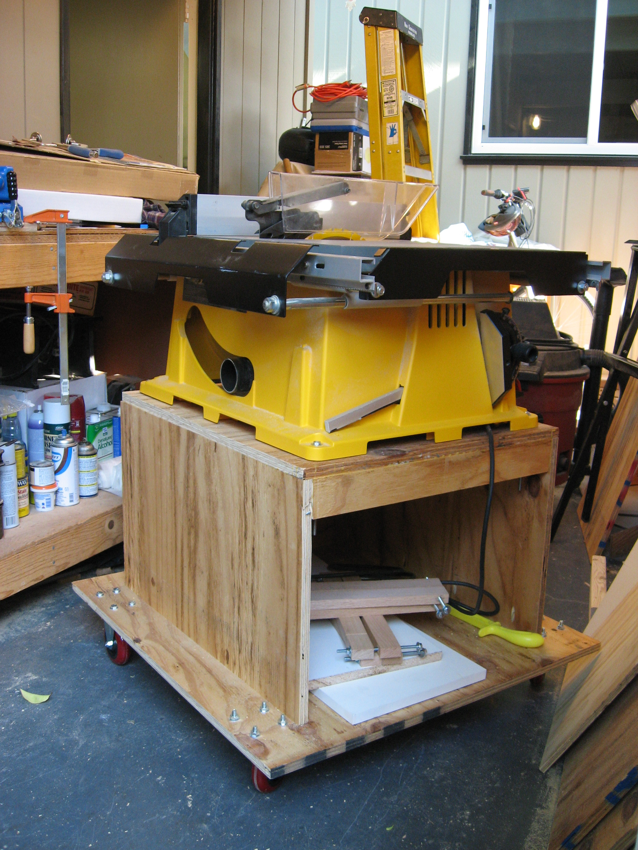 Table Saw Stand Plans Free
