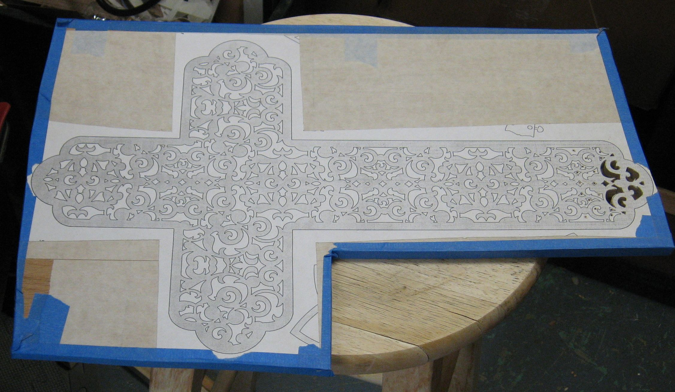 Cross Patterns For Woodworking