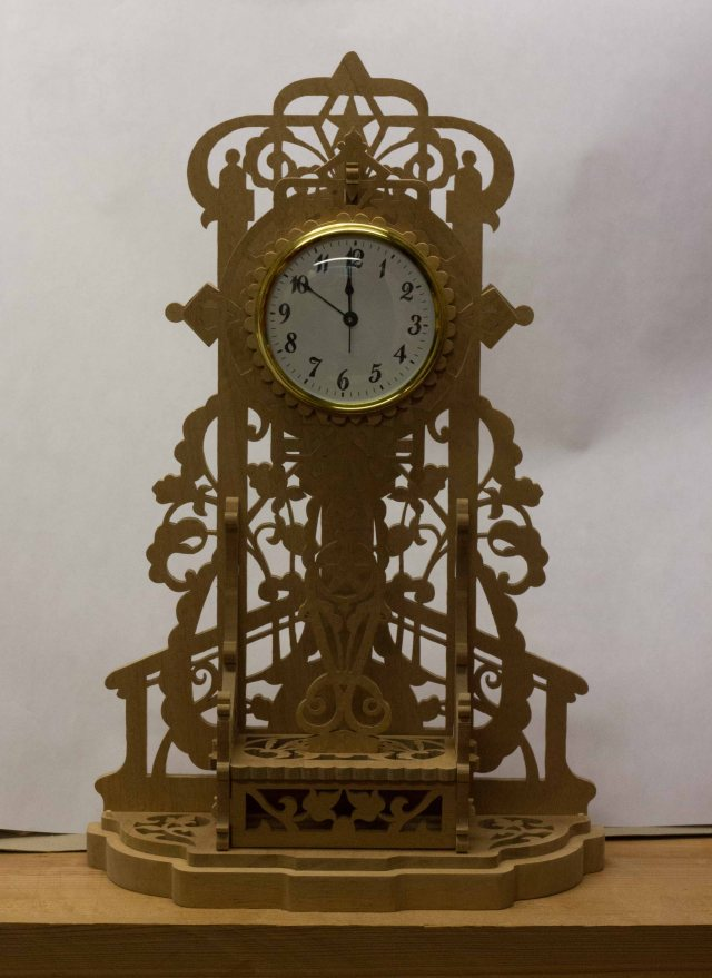 Italian Fretwork Shelf Clock