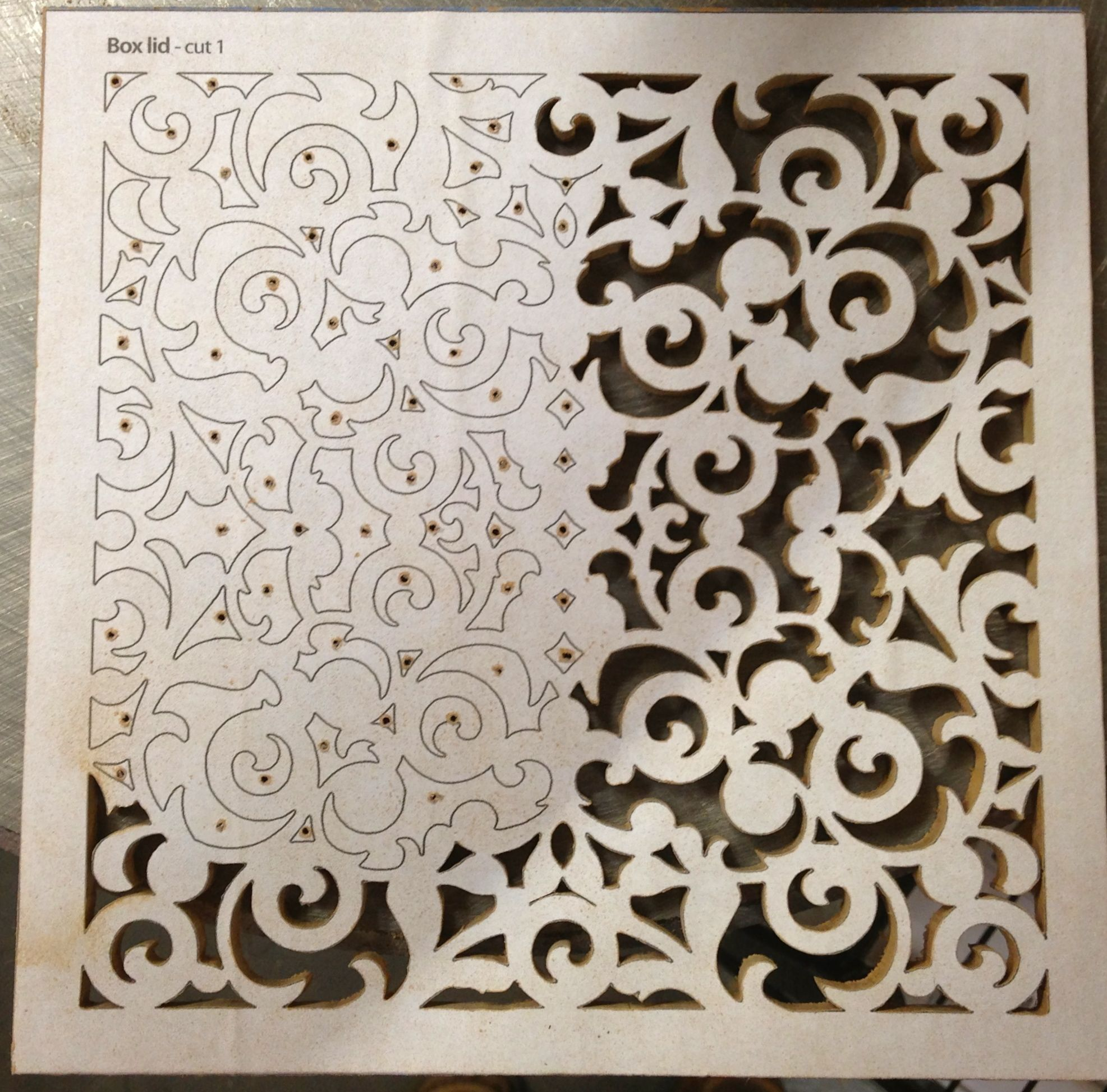 Wooden fretwork