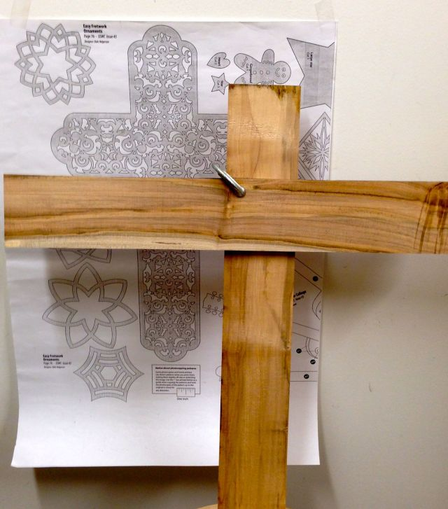 Fretwork cross