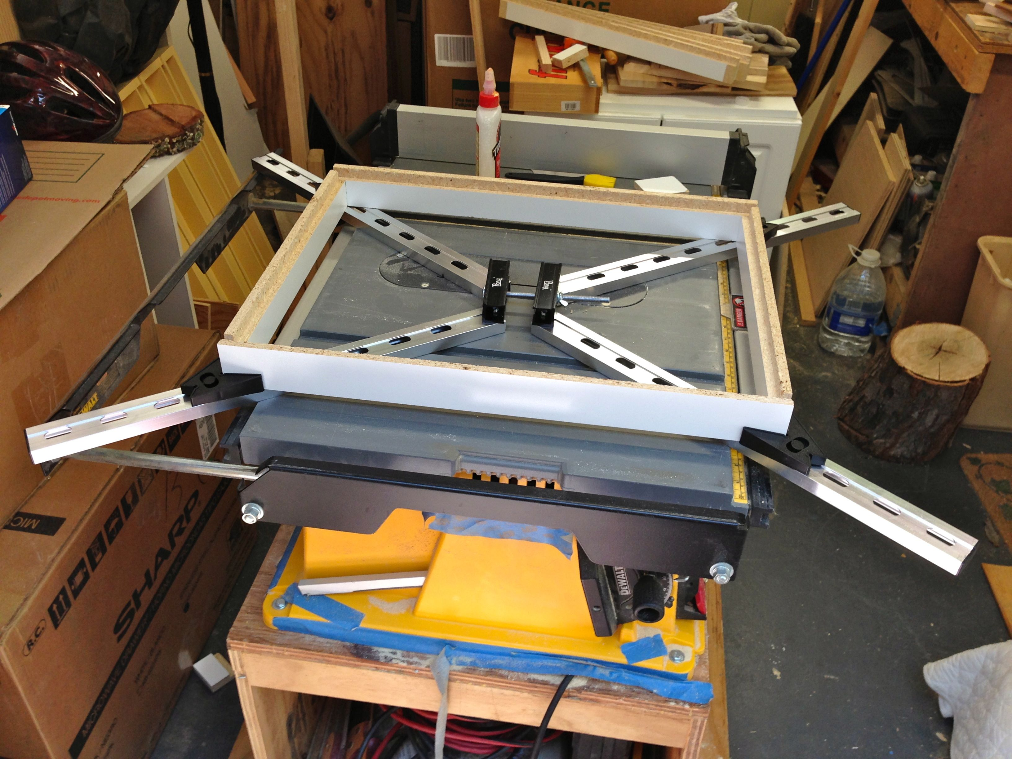 Wednesday Woodworking – framing clamps and 200 posts | Andrew\'s View ...