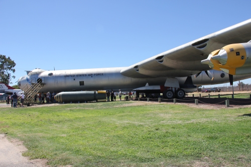 The B-36 - largest bomber ever built.