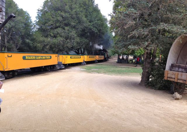 Big Trees train at Roaring Camp.