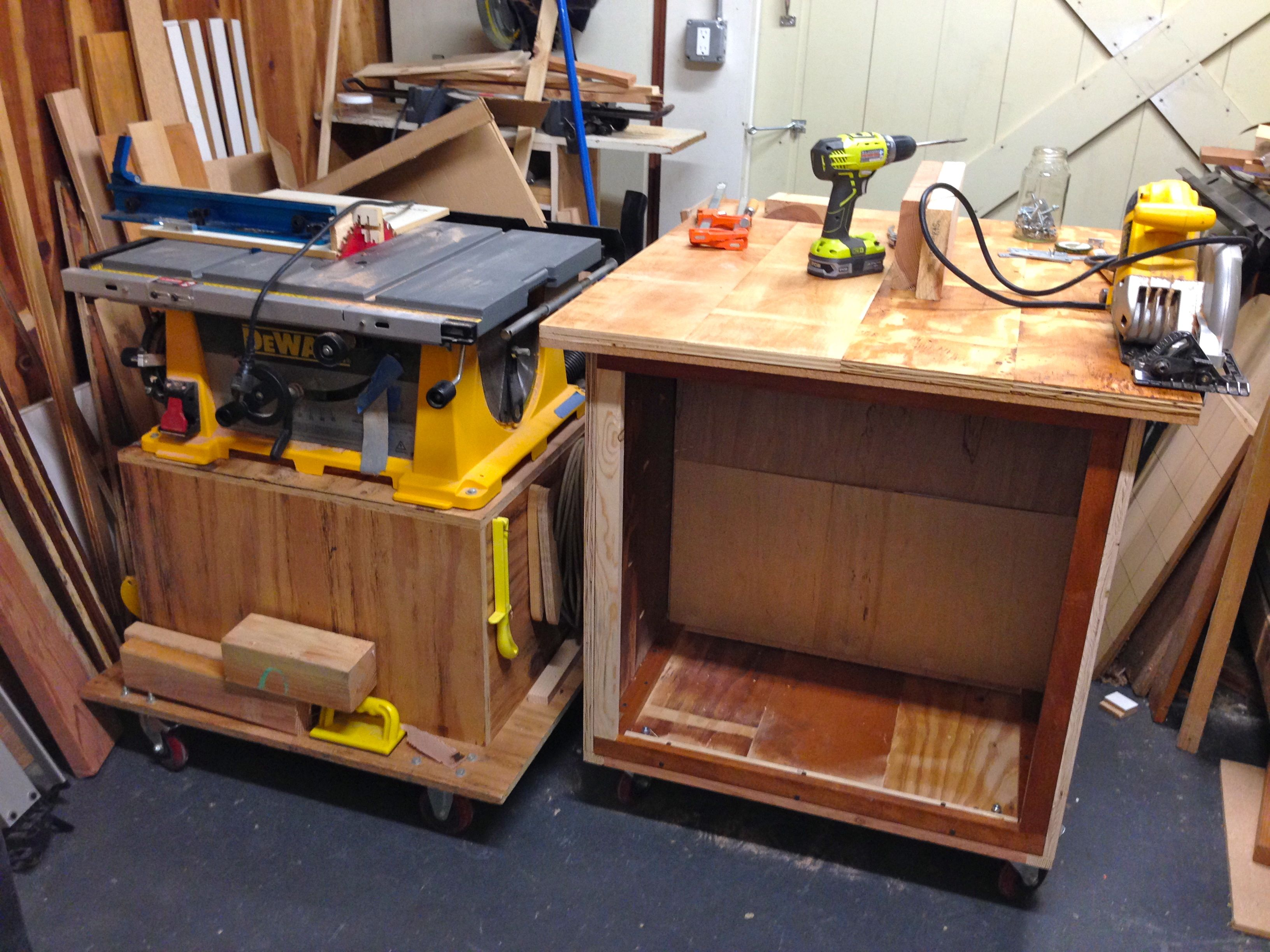 wednesday woodworking – more shop cart | andrew's view of
