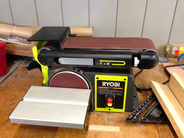 My new belt/disk sander.
