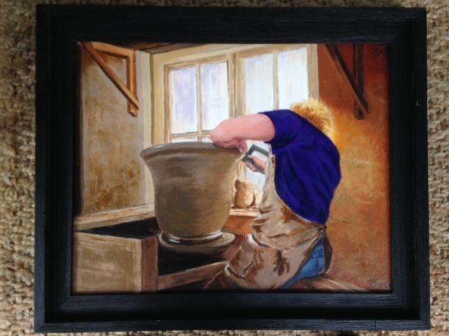 """""""The Potter"""" 16x20"""