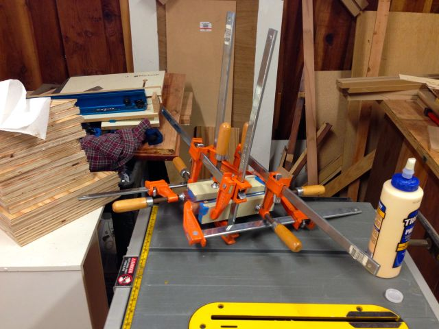 Oh look, a bunch of clamps!