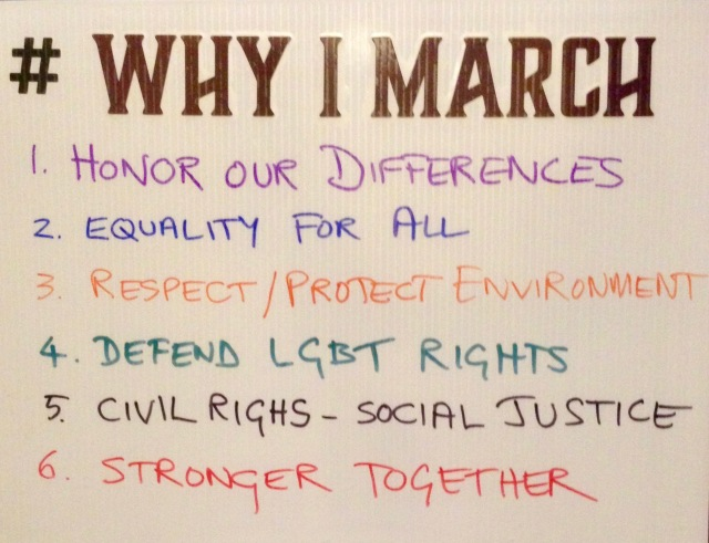 Why we marched.