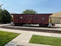 A restored rail car.