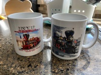 A little purchase from the gift shop. You can't have too many mugs.