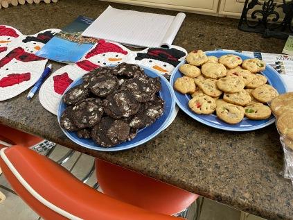 Crispy Chocolate and Holiday Cookies